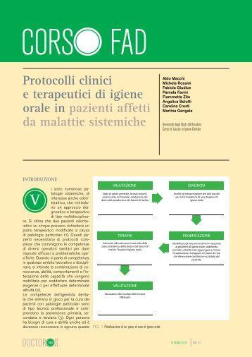 Protocolli clinici e terapeutici di igiene orale in pazienti ... - Ariesdue