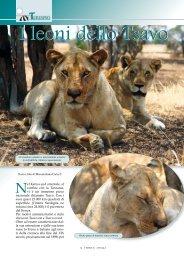 I leoni dello Tsavo - Max Caria