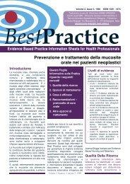 Prevenzione e trattamento della mucosite orale nei pazienti ...