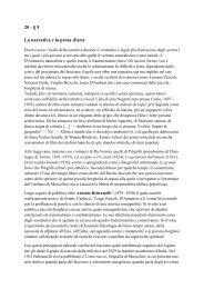 20 - § 5 La narrativa e la prosa d'arte