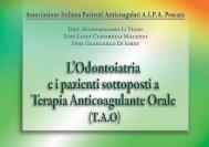 Associazione Italiana Pazienti Anticoagulati AIPA Pescara - Gerardo ...