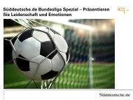 Süddeutsche.de Bundesliga Spezial ... - IQ media marketing