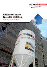 Gebäude schützen. Fassaden gestalten. - SCHWENK Putztechnik ...