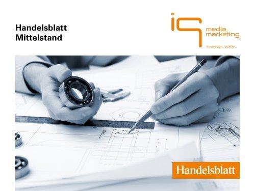 Handelsblatt Mittelstand - IQ media marketing