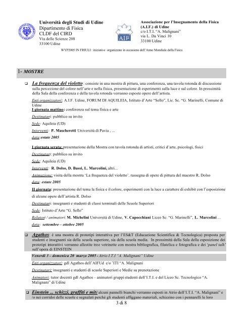WYP2005_in_FriulI AIFUd - Circolo AStrofili Talmassons