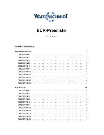 Preisliste (pdf)