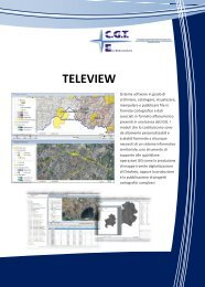 Nuova brochure Teleview - CGT Elettronica SpA