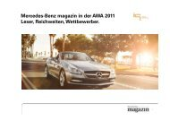 Mercedes-Benz magazin Marken - IQ media marketing