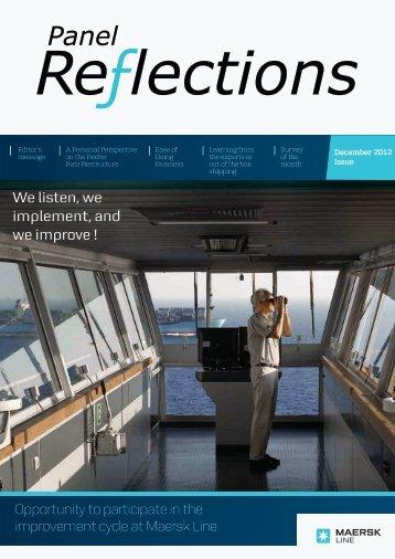 December (PDF 1,5 MB) - Maersk Line Customer Panel