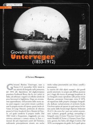 Giovanni Battista Unterveger - Riviste
