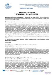 SCALATORI SU DUE RUOTE - LetterAltura