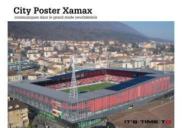 City Poster Xamax - It's Time