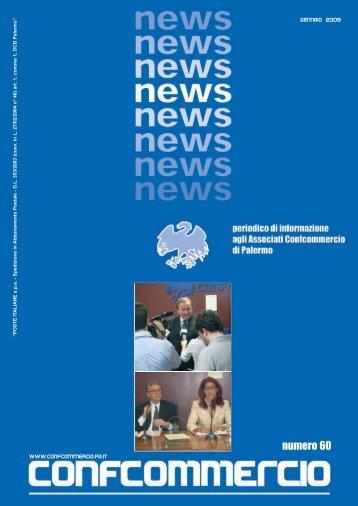 confcommercio news - gennaio 2009 - Confcommercio Palermo