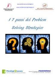 I 7 passi del Problem Solving Strategico - G. Veronese