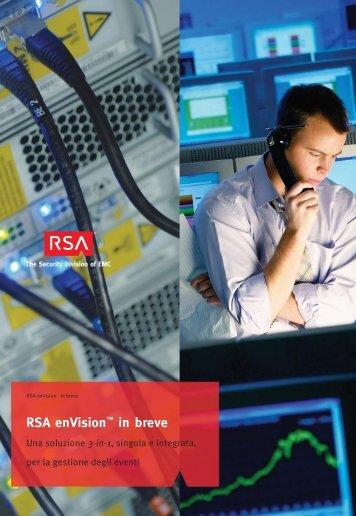 RSA enVision™ in breve