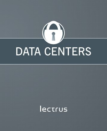 Modular daTa CenTers - Lectrus