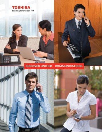 Unified Communications Brochure - Toshiba