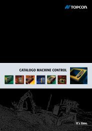 CATALOGO MACHINE CONTROL - Topcon-positioning.eu