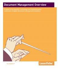 Document Management Overview (A Laserfiche Publication)