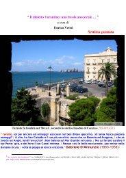 VII e ultima puntata - Taranto in cartolina