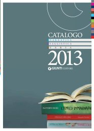 CATALOGO - Giunti International Division