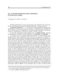 Anatomo Fisiologia dell'Apparato Pneumo Fonatorio - AOOI