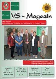 VS Magazin Ausgabe 3 2011 - VS Bürgerhilfe