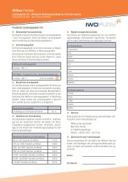 Leistungspaket IIb - eBilling für Rechnungsempfänger - IWOfurn