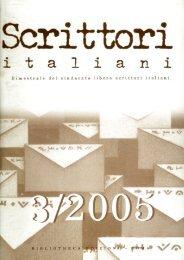 rivista 3-2005 - Sindacato Libero Scrittori Italiani