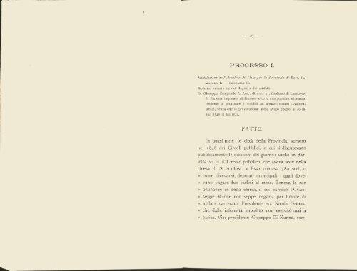 I Processi Politici di Barletta - Biblioteca del Consiglio Regionale ...