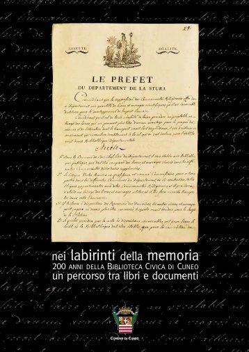 200 anni - Comune di Cuneo
