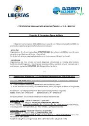 Progetto corsi formazione BLS_D - Libertasbrescia.it