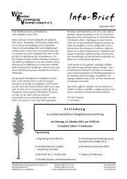 Info-Brief - September 2011 - Waldbesitzer.net