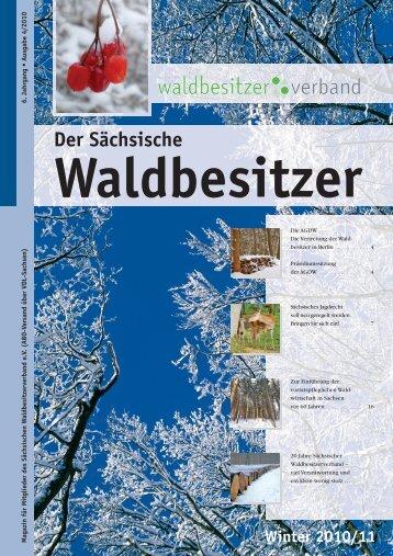 6. Jahrgang Ausgabe 4/2010 - Der Sächsische ...