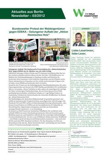 Aktuelles aus Berlin Newsletter – 03/2012 - Der Sächsische ...
