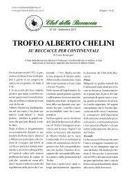 TROFEO ALBERTO CHELINI di Cesare Bonasegale - N° 52