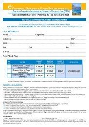 Prenotazione Alberghiera - BGE Eventi & Congressi