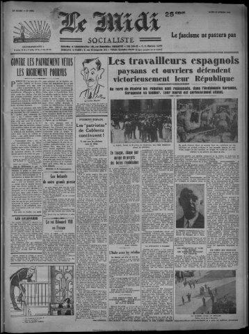 Les travailleurs espagnols - Bibliothèque de Toulouse