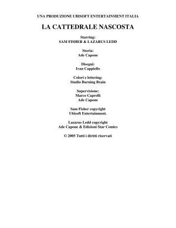 sceneggiature in italiano da scaricare video