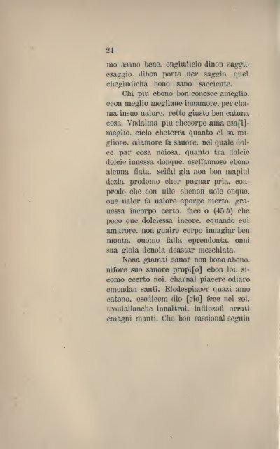 Testi inediti di antiche rime volgari