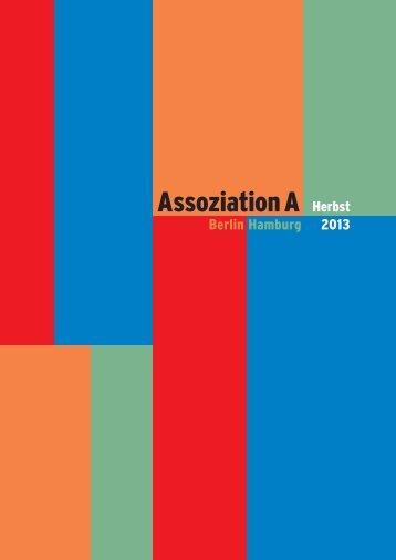 Assoziation A Herbst 2013