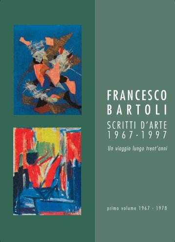 Volume 1 - MAC Francesco Bartoli