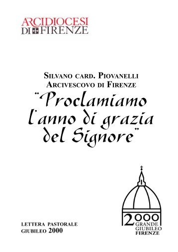 silvano card . piovanelli arcivescovo di firenze - Chiesa Cattolica ...
