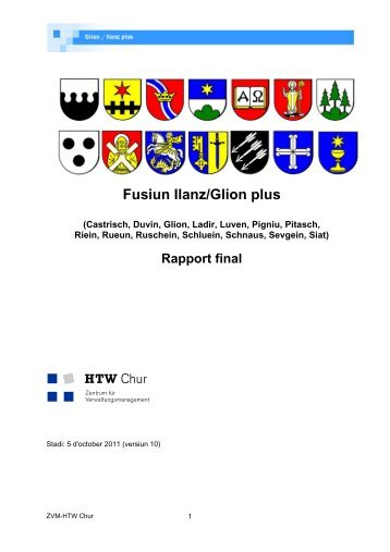 Rapport final - Glion plus