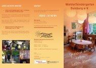 Flyer (PDF) - Waldorfkindergarten Duisburg