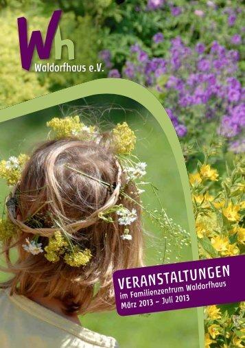Veranstaltungen - Waldorfhaus eV