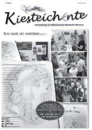 Kiesteichente Juli 2011 - Freie Waldorfschule Mannheim
