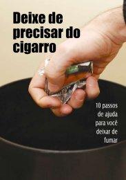 Deixe de precisar do cigarro - AreaSeg