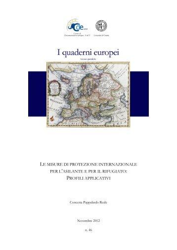 46_2012 - Centro di Documentazione Europea - Università degli ...