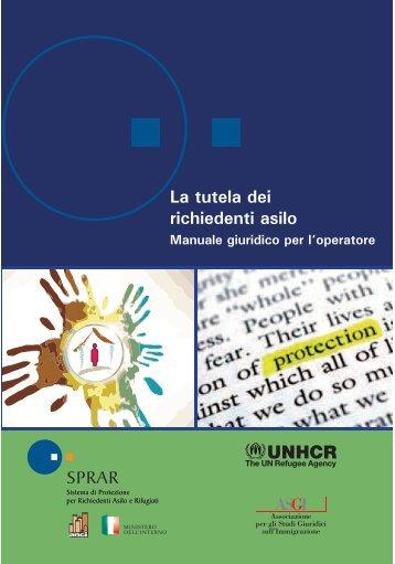 tutela dei richiedenti asilo – Manuale giuridico ... - Servizio Centrale